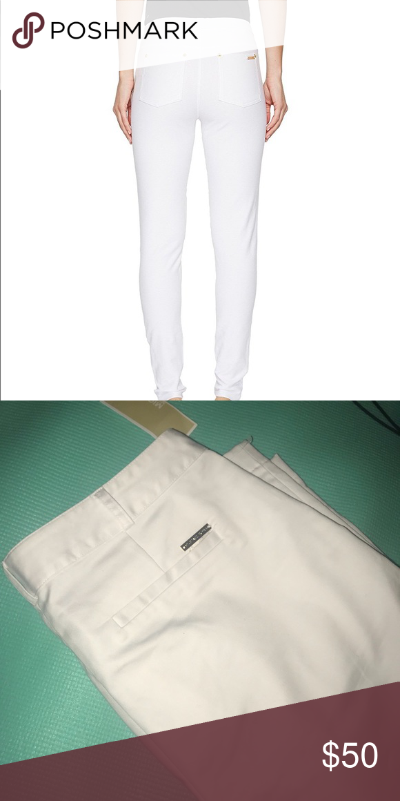 79f73a6bf7b73 Michael kors White basics Michael kors dress pants basics. NWT. Michael  Kors Pants Skinny