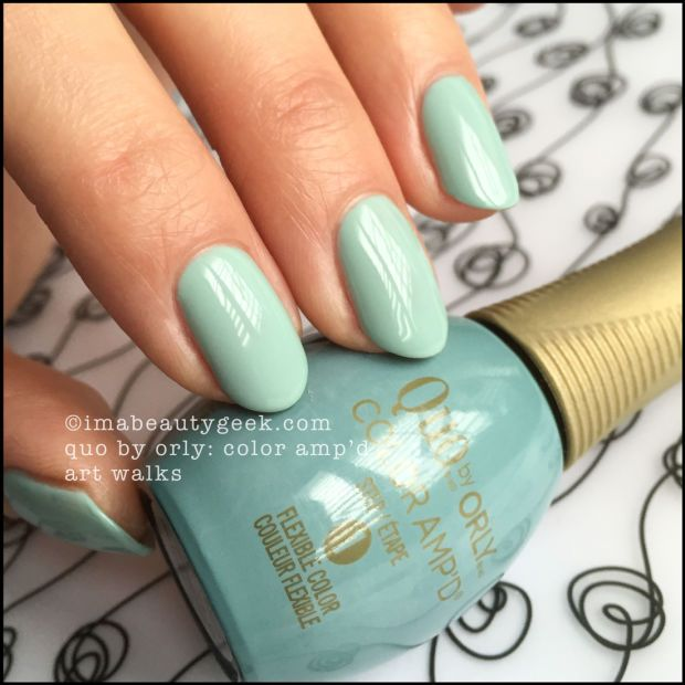 Quo by Orly Color Amp\'d Art Walks | Nail Polish Colours | Pinterest ...