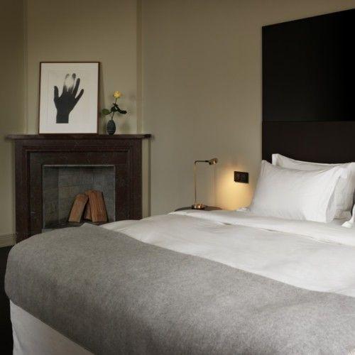 Master bed color scheme
