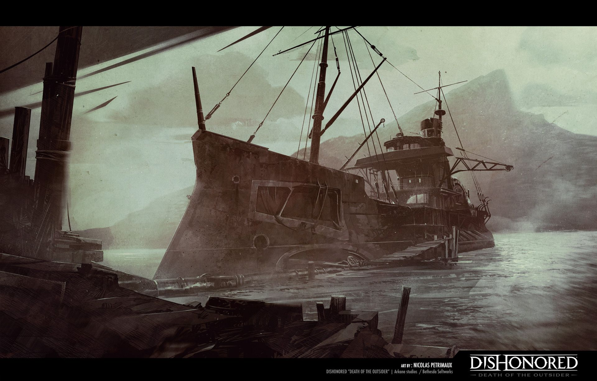 Pin by Andrei KAtajev on dishonored 2 in 2019 | Art