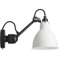 Photo of Dcw Lampe Gras No 304 Sw Black wall lamp, white shade Dcw Editionsdcw Editions