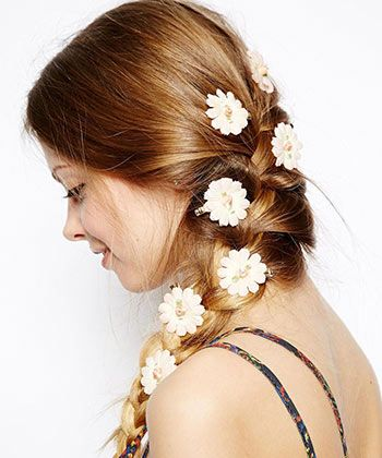 9 Stunning Hair Accessories For Prom Flower Hair Clips Flowers In Hair Rave Hair