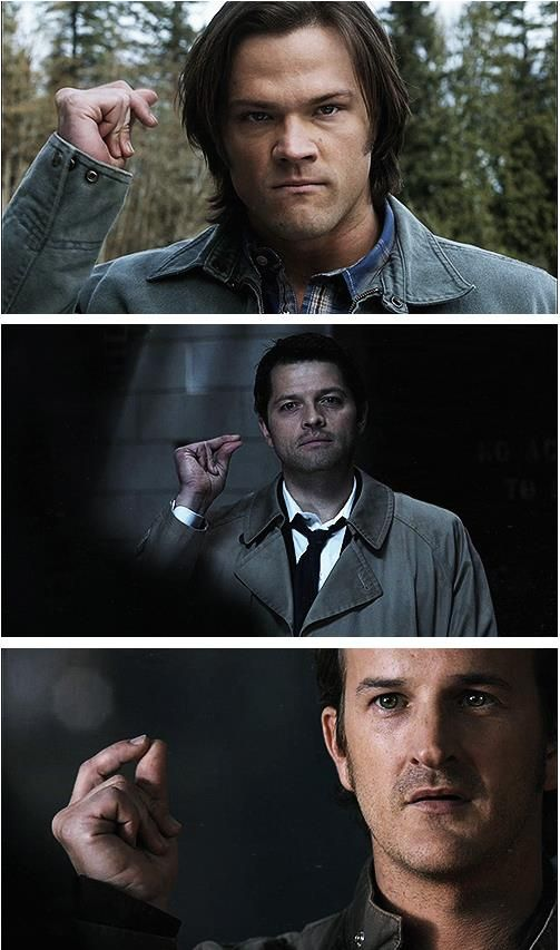 The Snap Where S Crowley Supernatural Lucifer Castiel