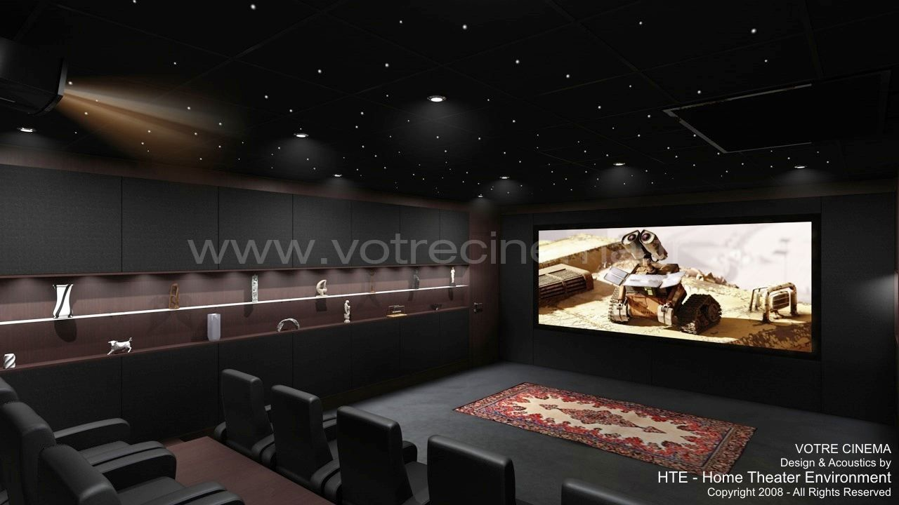 exemple de home cin ma priv de luxe r alis dans une pi ce de 44 m2 en suisse par votre cinema. Black Bedroom Furniture Sets. Home Design Ideas