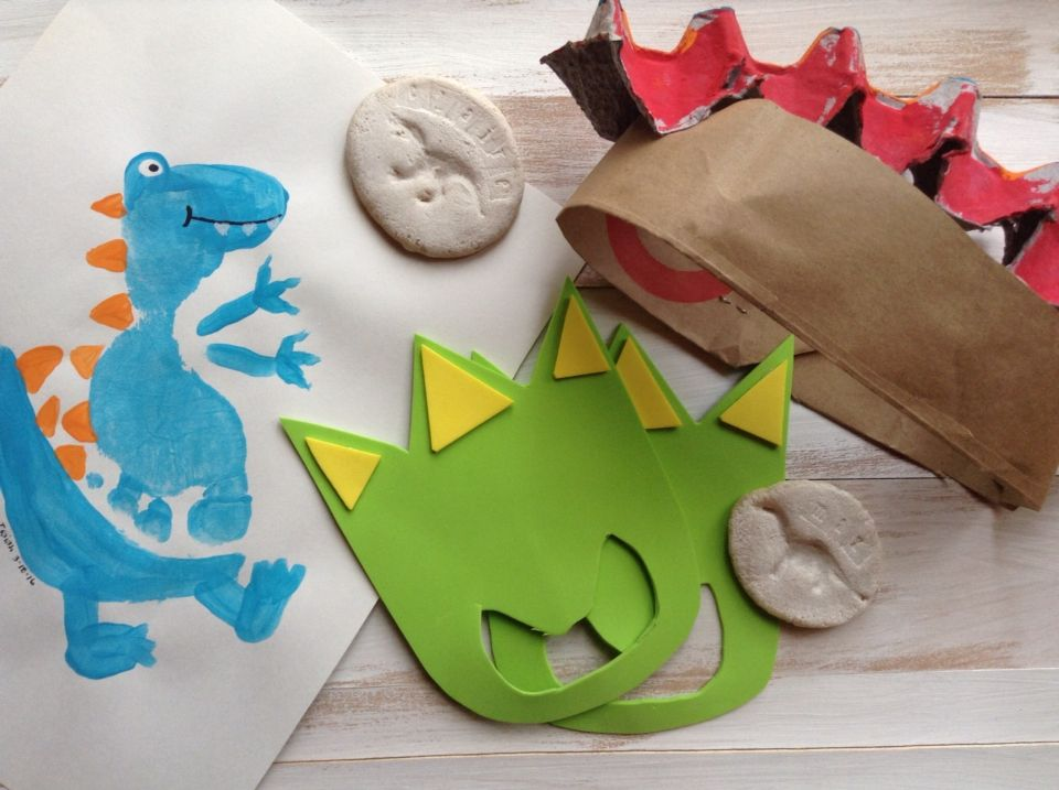Dinosaur Week Crafts