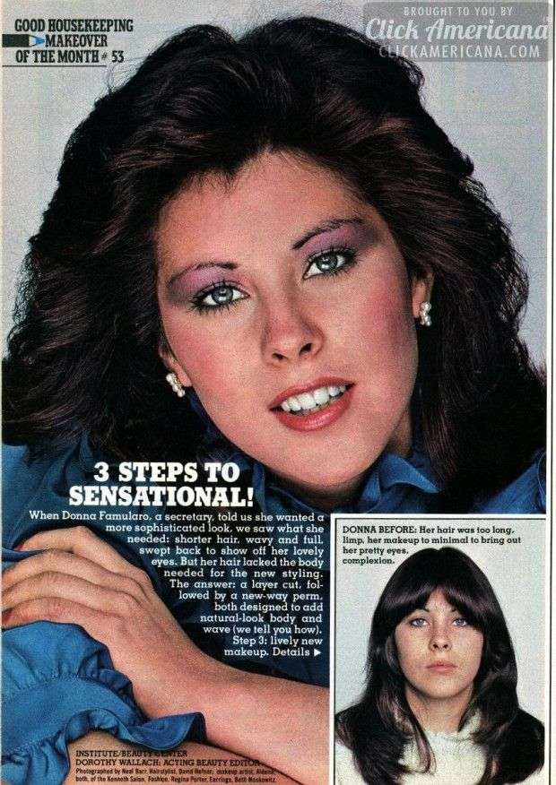 Donna's makeover: Three steps to sensational (1982)