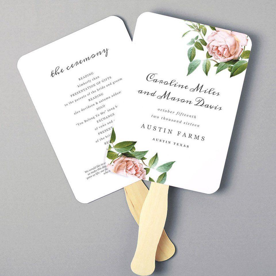 Custom Printed Hand Fans Wedding Fans Wedding Wedding Fans