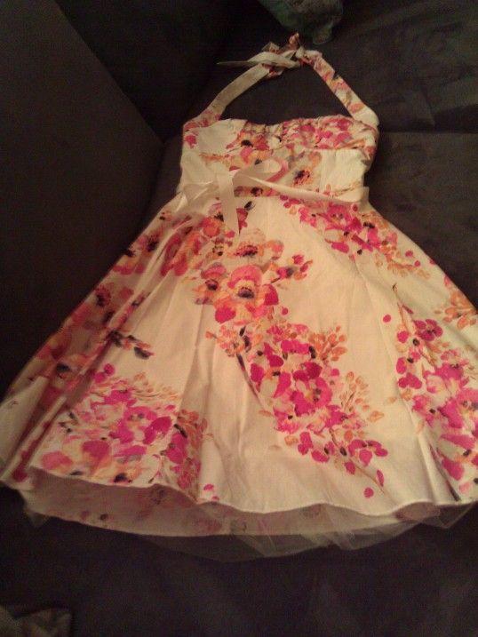 Ruby Rox Vintage Style Tropical Dress My Honeymoon Dress