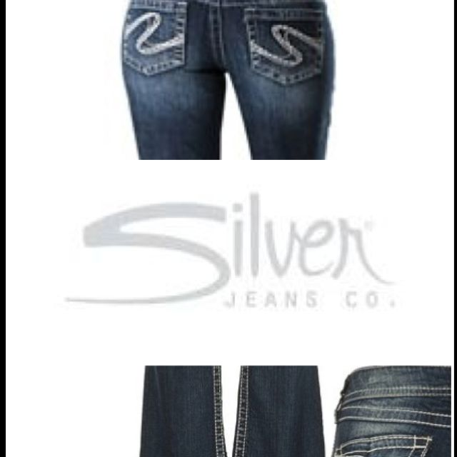 Love, love, love Silver!!  Best jeans ever!