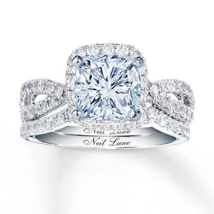 e0558b5c9 NEIL LANE BRIDAL 1 CT TW DIAMONDS 14K GOLD BRIDAL SETTING | For Her ...