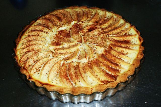 Rahka-omenapiirakka - Kotikokki.net - reseptit
