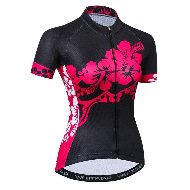 Fabulous Women S Designer Bike Jersey Cycling Top Free Worldwide