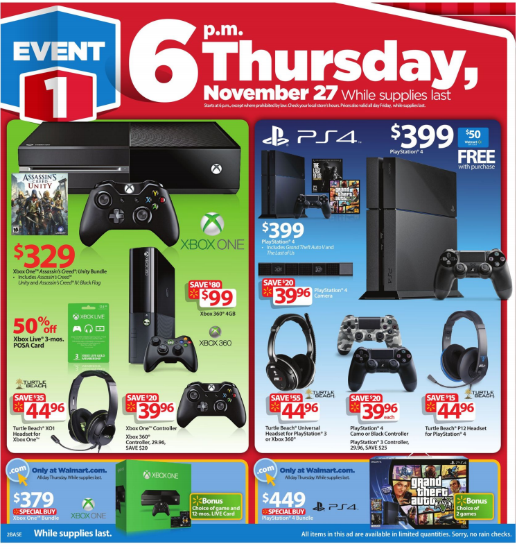 Walmart Black Friday Ad | Black friday