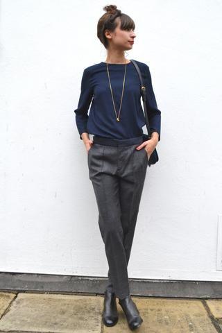 Chloe Stora Priscille Gris Trousers  181e45d7091