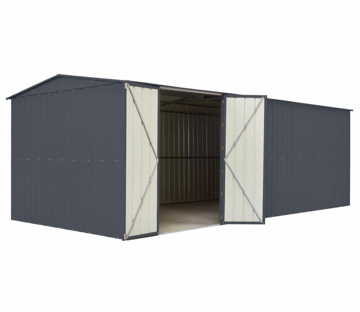 Lotus 10 X 15 Ft Metal Workshop Metal Workshop Metal Shed Apex Roof