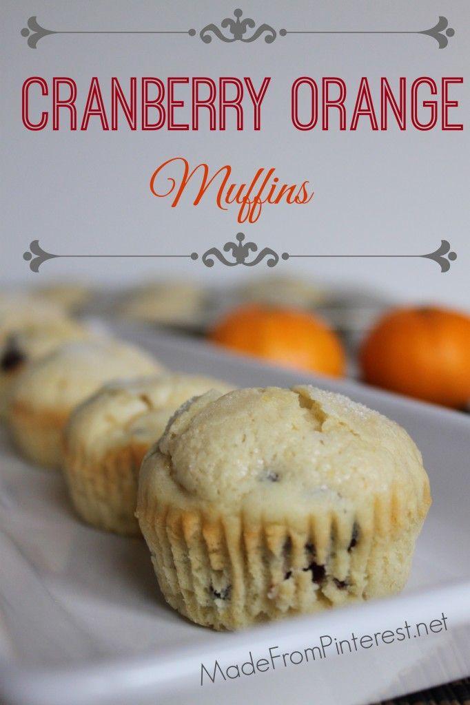 Cranberry Orange Muffins Made With Fresh Buttermilk Batter Can Be Frozen In Paper Muffin Cu Cranberry Orange Muffins Breakfast Quiche Recipes Baking Muffins
