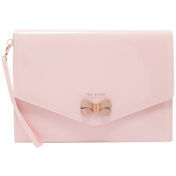 10c6d541f Ted Baker Luanne Envelope Pouch Purse ( 41) ❤ liked on Polyvore featuring  bags