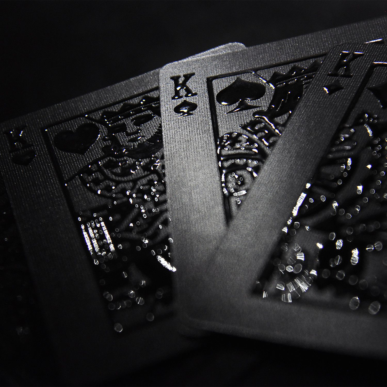 Impressions Playing Cards // Black Stealth   White Phantom #card, #Impressions, #tables, #Vegas