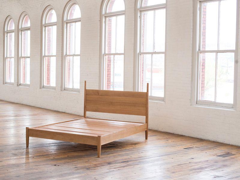 Phloem Studio Joseph Bed Bed Wood Bedroom Bed Frame
