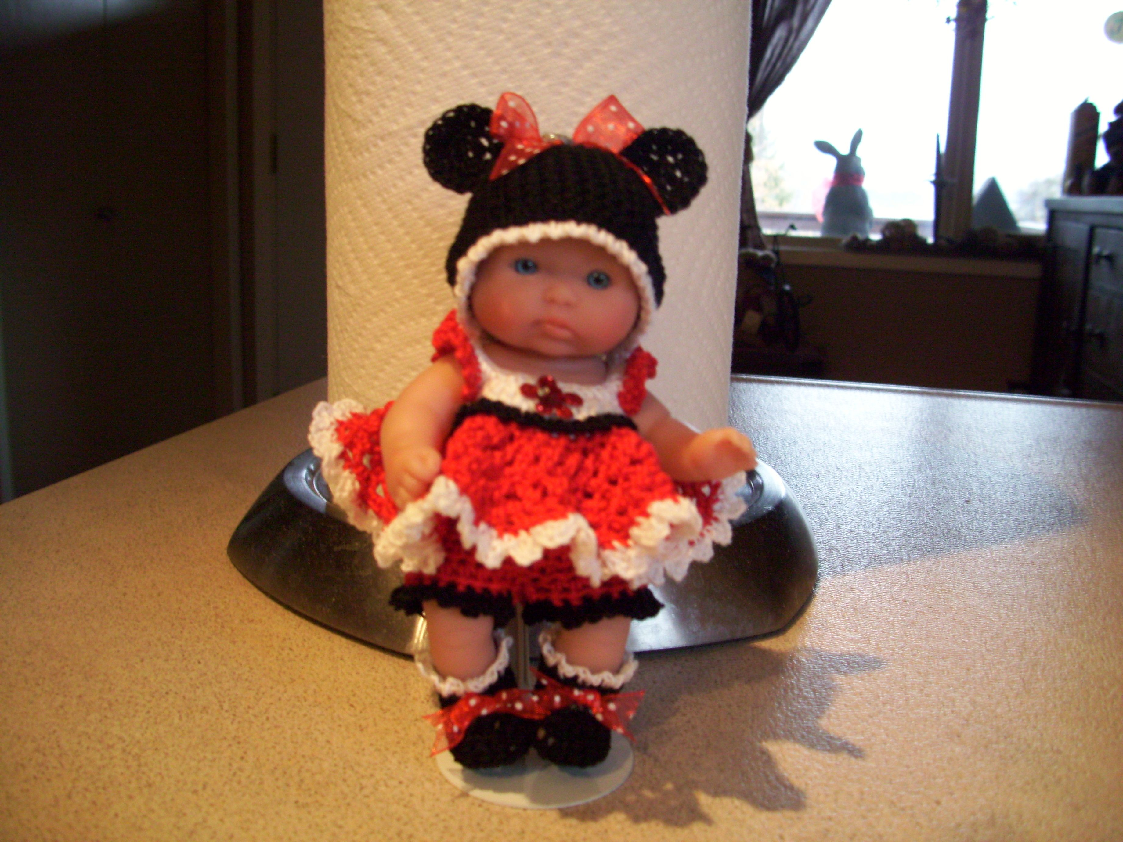 Berenguer 5 Quot Baby Dolls Minnie Mouse Baby Doll Baby