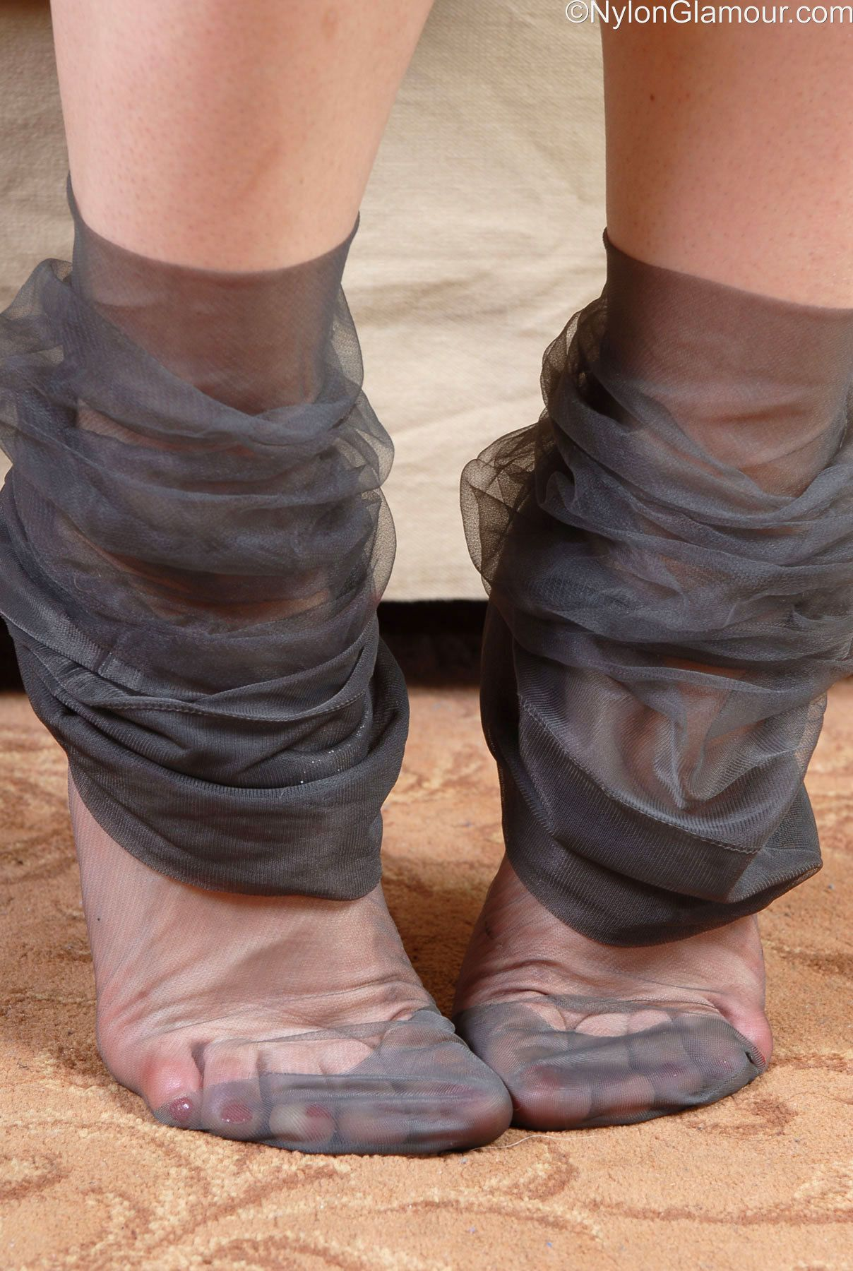 Nylon foot fetish picture