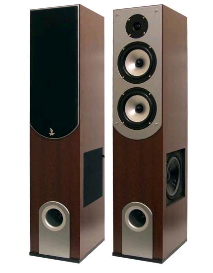 home speaker design. jamo pylepro phst89 200 watt 3-way bass reflex home speaker system design