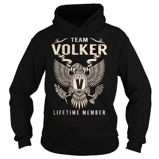 Awesome Tee Team VOLKER Lifetime Member - Last Name, Surname T-Shirt Shirts & Tees