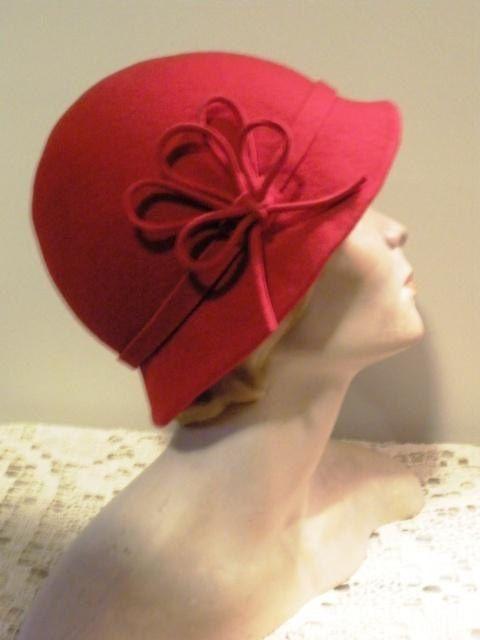 Sombrero Cloché o Sombrero de Campana.