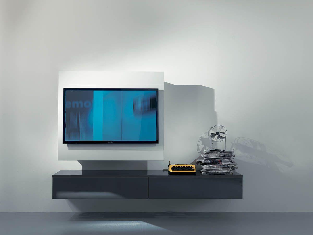 Canalina Per Fili Tv porta tv nascondi fili