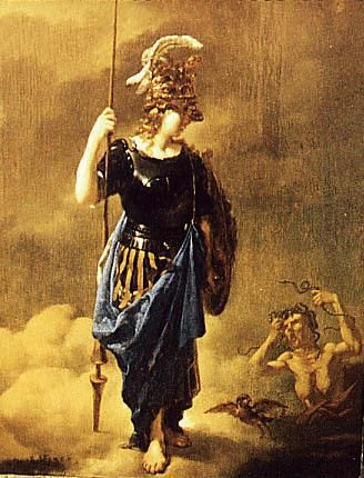 pallas athena painting - photo #1