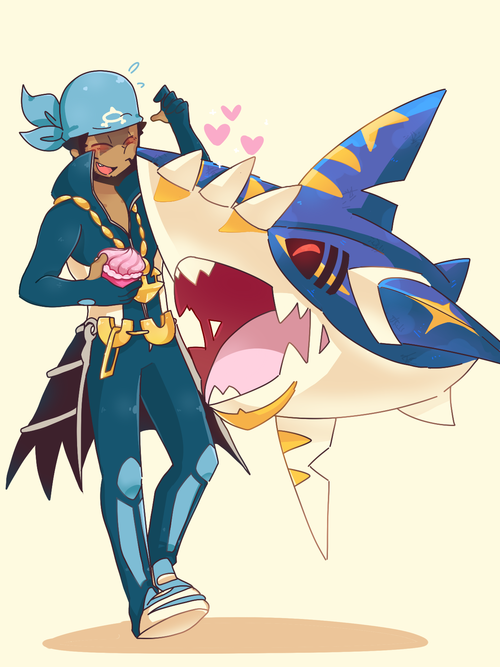 Archie And Mega Sharpedo That Sharpedo Kicks Butt At