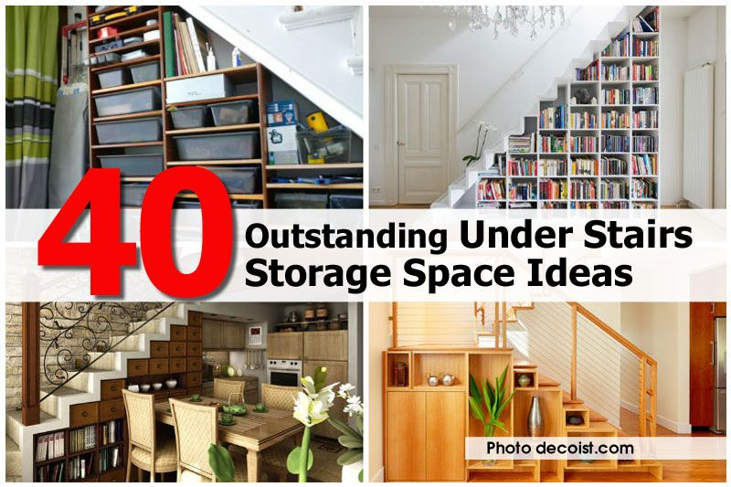 40 Outstanding Under Stairs Storage Space Ideas - http://www.diyprojectsworld.com/40-outstanding-under-stairs-storage-space-ideas.html