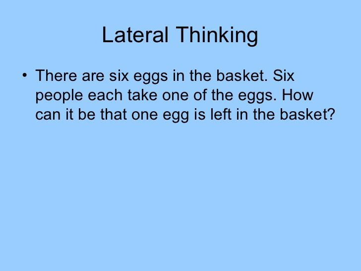 critical thinking riddles for adults