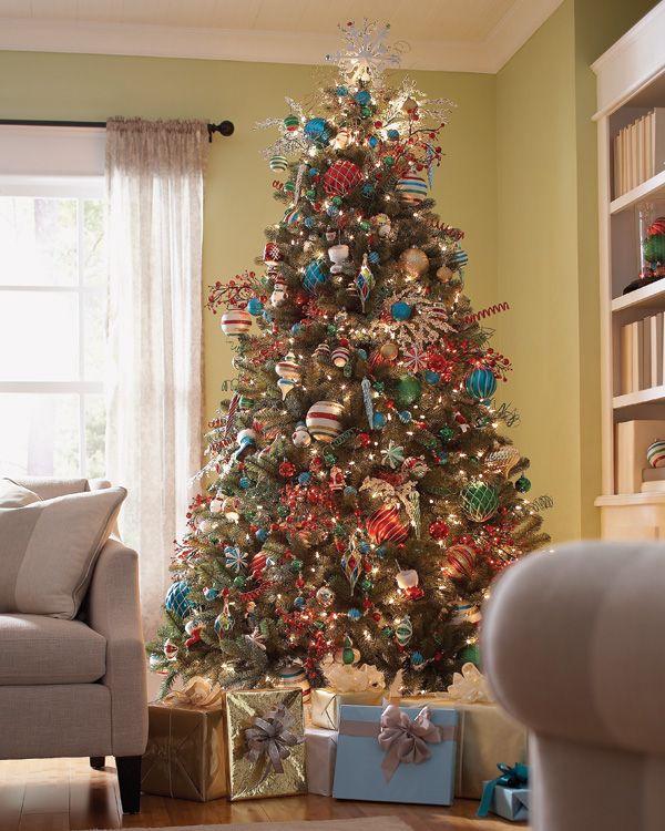 Martha Stewart Christmas Tree Topper: Christmas Tree With Martha Stewart Living Ornaments