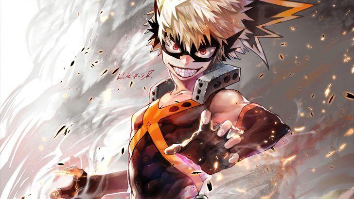 Download Katsuki Bakugou Anime Art by Pixiv 12471590 1920x1200