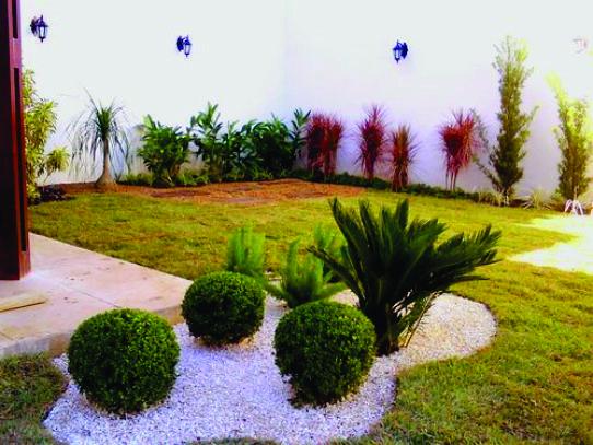 Modelos de jardins residenciais para frente de casa  Google