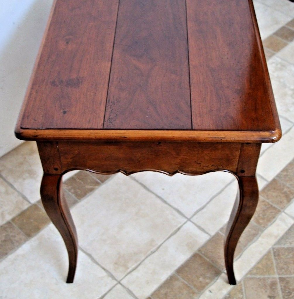 Henredon French Country Pierre Deux End Side Lamp Coffee Table Nightstand Vintage Accent By Dove Tail Drawer Joints 25 Tall X 22 Deep