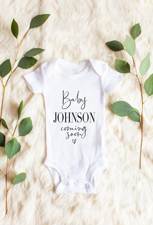 Custom Valentine/'s day Pregnancy reveal baby grow bodysuit vest new baby