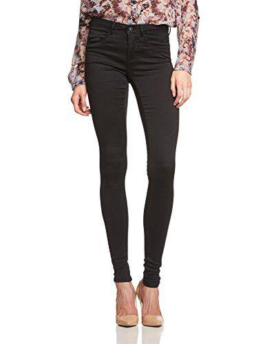 ONLY Damen Skinny Hose ROYAL SOFT REG SKIN JEGGING BLACK NOOS, Gr. 42 L32  (Herstellergröße  XL 32), Schwarz (Black C-N10) b60c85d2b9