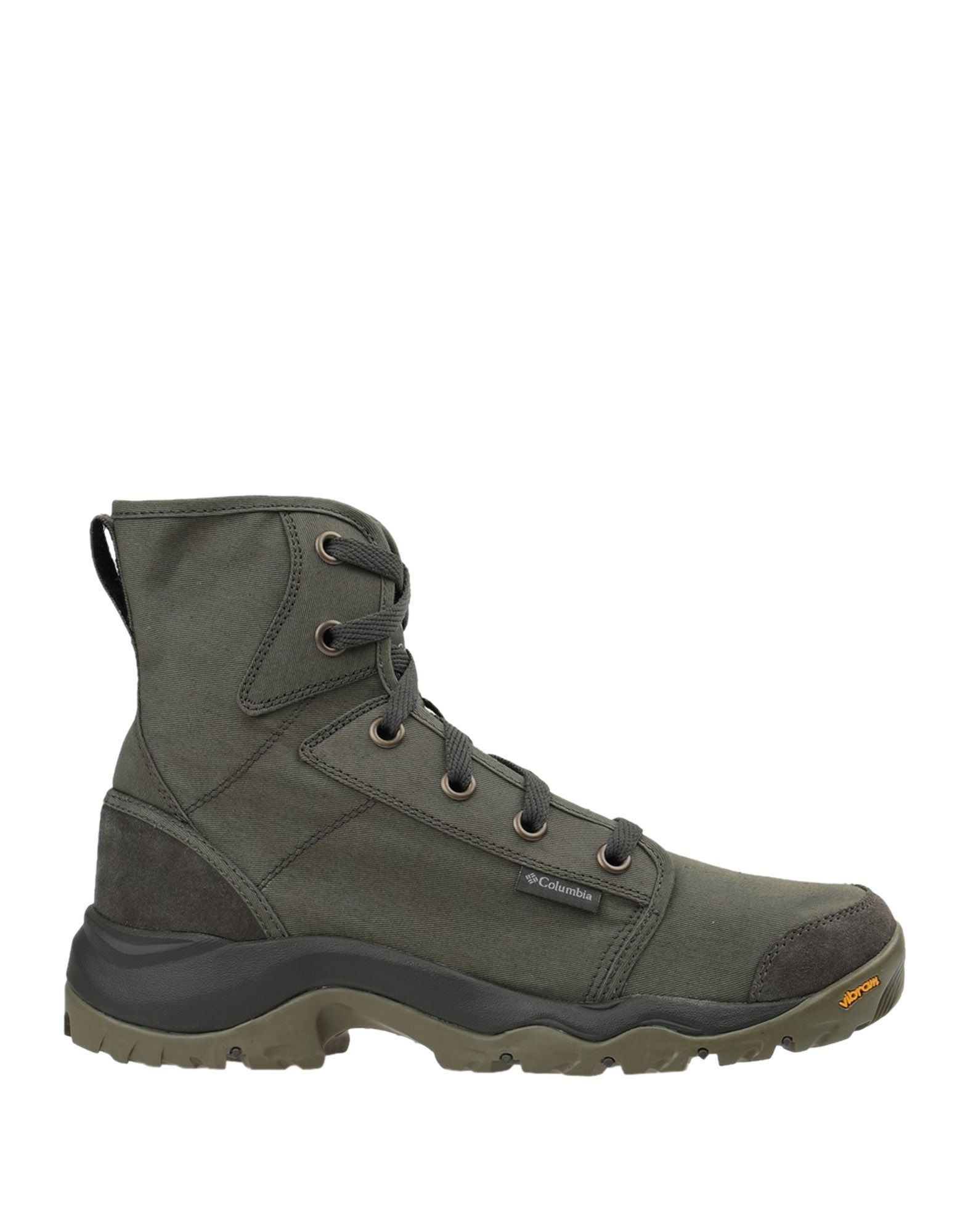 Columbia Boots In Military Green