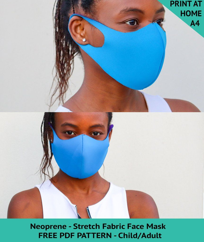 Photo of Easy DIY Neoprene Face Mask Pattern – FREE PDF SEWING PATTERN
