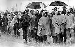 Braving the storms to march from Selma to Montgomery, 1965, uncredited