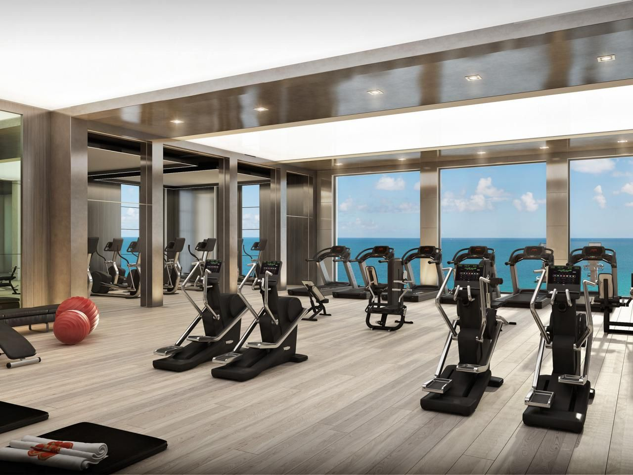 12 Designer Fitness Centers That Will Make You Actually Want To Work Out Home Gym Design Gym Design Fitness Center Design