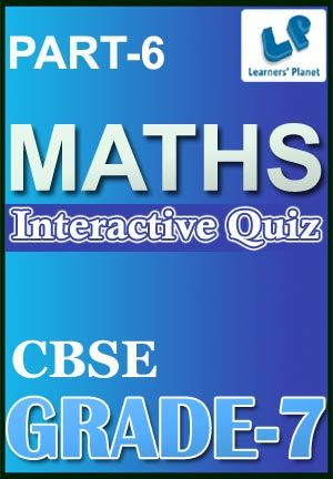 7-CBSE-MATHS-PART-6 Interactive quizzes & worksheets on Congruence ...