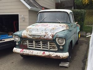1955 Chevy Shortbox Red Deer 3500 55 Chevy Truck 1955 Chevy Chevy