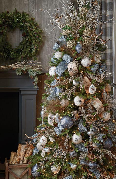 RAZ 2017 Decorated Christmas Trees - Trendy Tree Blog| Holiday Decor Inspiration | Wreath Tutorials|Holiday Decorations| Mesh & Ribbons