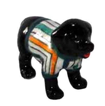 LABRADOR Dog n racing Stripes Sweater TINY Porcelain KLIMA L893G  $7.99