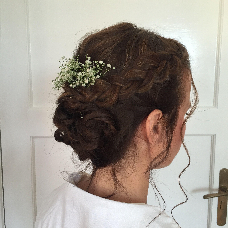 pin auf hairstyle - bridalhair - brautfrisurengleam blush