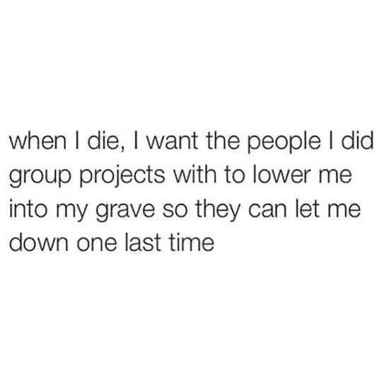Group Project Quotes University Life