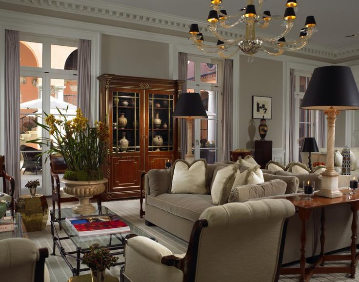Casual Elegance Describes Perfectly Glenmere Mansion. Chester, New York    // Scott Snyder Inc. Interior Design U0026 Architecture
